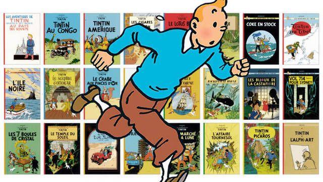 Vendido un cómic de Tintin por 1,12 millones de dólares