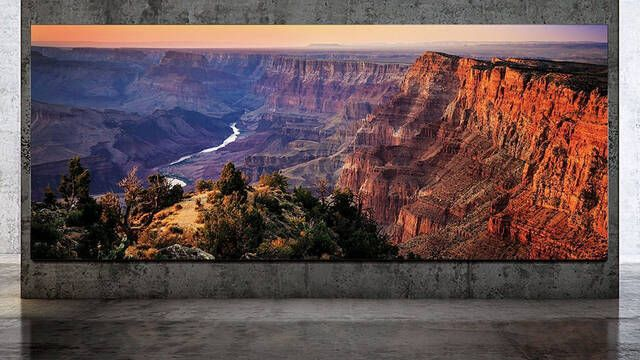 """Samsung va a lo grande con su nuevo televisor 8K de 292"""""""