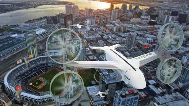 Uber usará drones para repartir comida a domicilio en verano