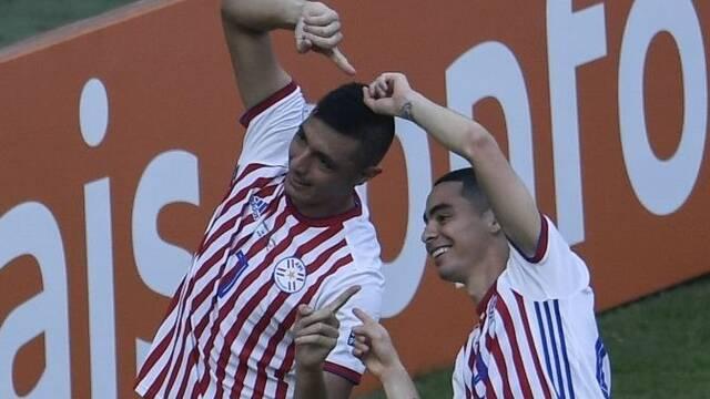 Paraguay celebra un gol a lo Dragon Ball en la Copa América