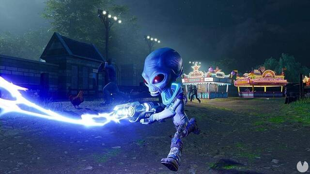 Comparativa gráfica: Destroy All Humans! Original VS. Remake