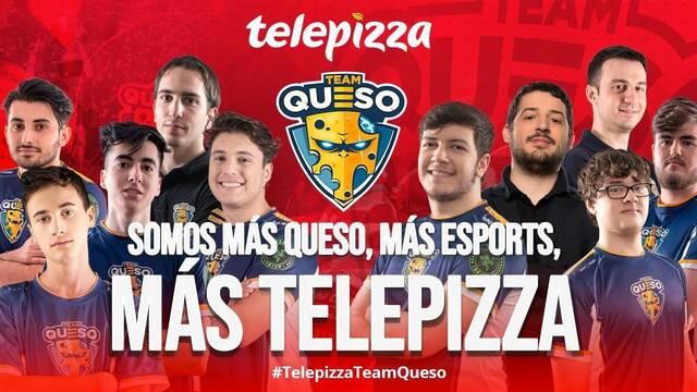 Team Queso cambia el nombre de sus equipos de Superliga Orange a Telepizza Team Queso