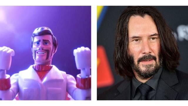 Keanu Reeves es 'muy divertido' y sorprende al director de Toy Story 4