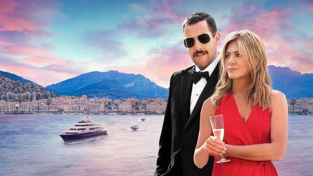 Jennifer Aniston y Adam Sandler baten récords con Criminales en el mar