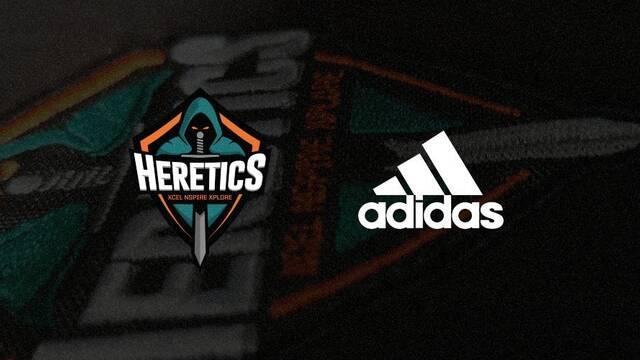 Adidas vuelve a apostar por los esports patrocinando a Team Heretics