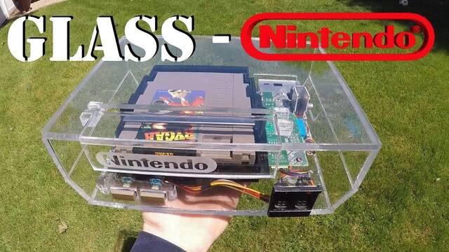 El mod de los viernes: Una NES totalmente transparente