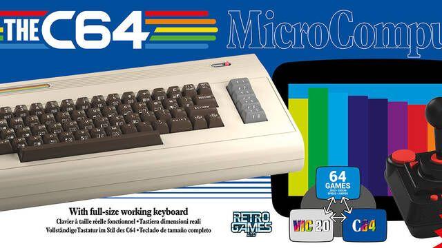 TheC64 se relanzará a tamaño completo el 5 de diciembre