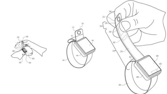La nueva patente de Apple: un reloj con cámara en su correa