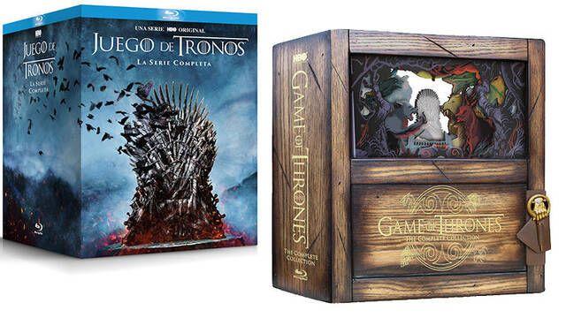 Juego de Tronos: La serie completa en una preciosa (y cara) caja de madera