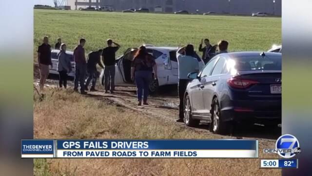 Desvío fatal en Google Maps: cientos de coches atrapados por un error de la app