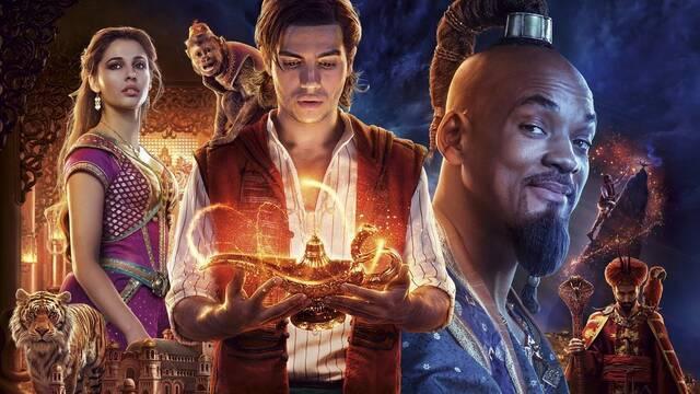 Aladdin sobrevive a John Wick y a Elton John en la taquilla española