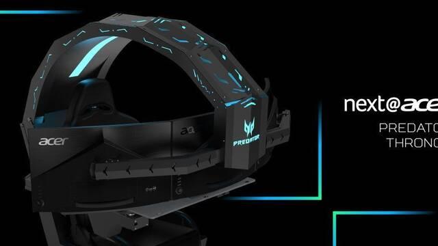 Acer Predator Thronos, el trono para jugar, costará 17.990 euros