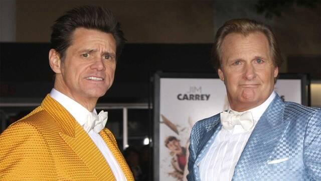 Jim Carrey y Jeff Daniels se reúnen de nuevo tras 'Dos tontos muy tontos'