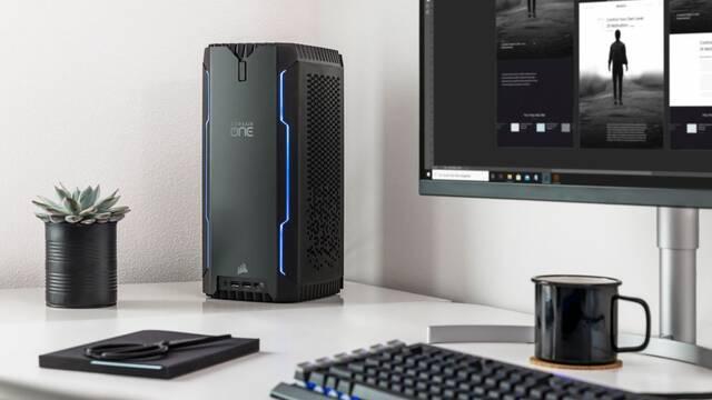 El nuevo PC para jugar Corsair One a100 está equipado con un AMD Ryzen 3000