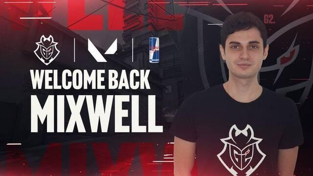 Mixwell deja CS:GO y ficha por G2 Esports como jugador de Valorant