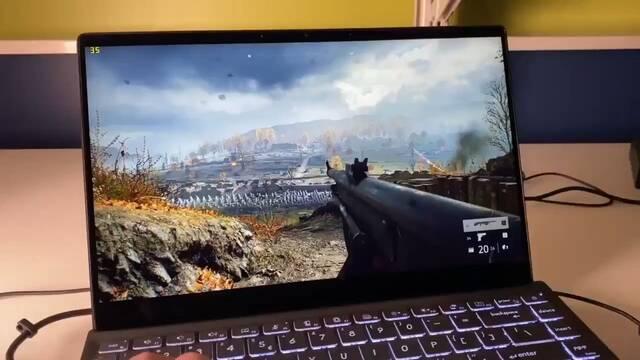 La nueva APU de Intel con gráfica integrada Xe mueve Battlefield V en Alto a 30 fps