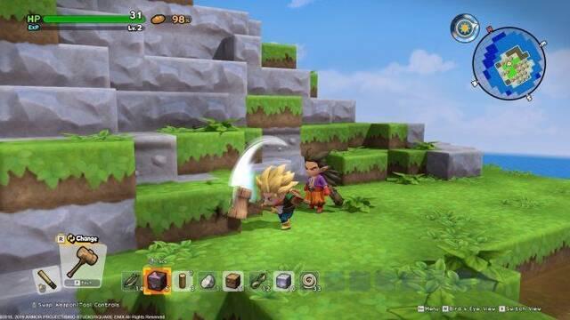 Square Enix quita el sistema antipiratería Denuvo de Dragon Quest Builders 2