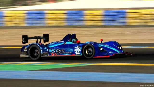 MSi eSports logra el pódium en las 24h de Le Mans de iRacing