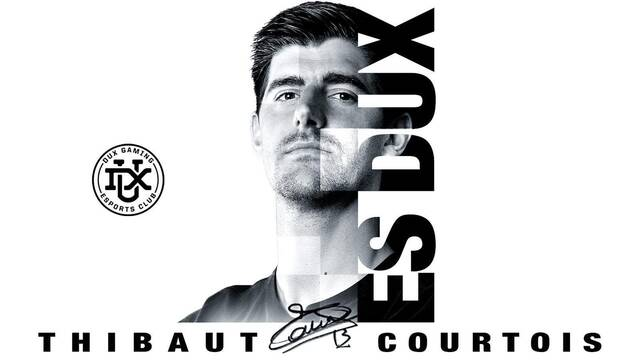 Thibaut Courtois, jugador del Real Madrid, entra a los esports con DUX Gaming