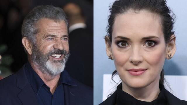 Mel Gibson vuelve a ser acusado de antisemita por Winona Ryder