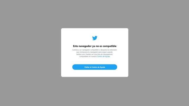 Ya no puedes usar Twitter desde Internet Explorer, la red social deja de darle soporte