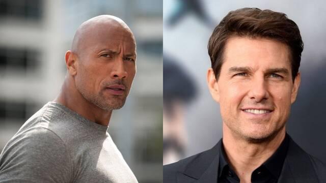 Red Notice: ¿The Rock y Tom Cruise juntos?