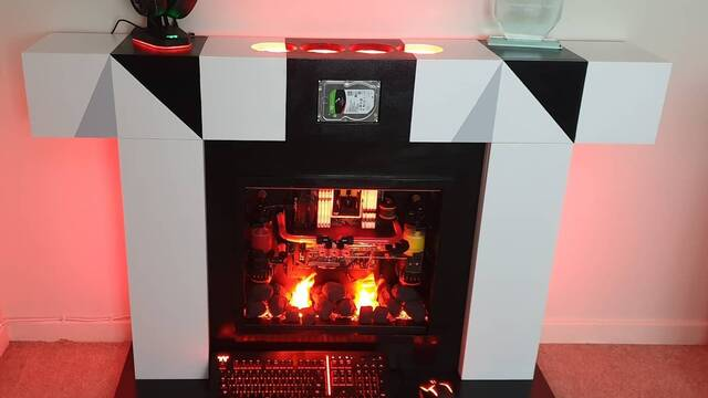 El PC Modding de los viernes: La chimenea