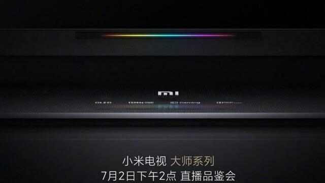 Xiaomi lanzará su Master TV para jugadores el 2 de julio en China