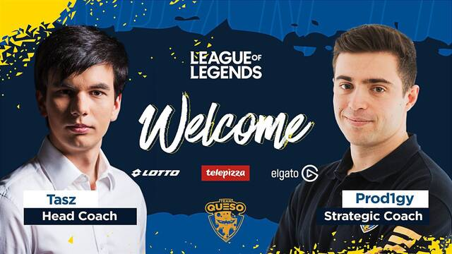 Team Queso ficha a Tasz y Prod1gy como nuevos entrenadores de League of Legends