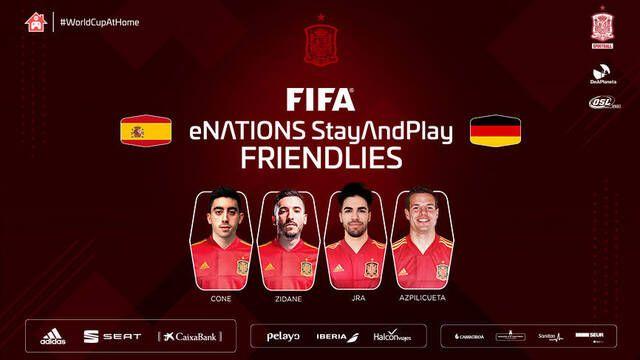 Esta es la convocatoria de la Selección Española para su partido contra Alemania en FIFA 20