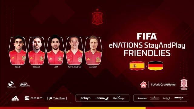 España empata ante Alemania para cerrar el FIFA eNations StayAndPlay Friendlies de FIFA 20