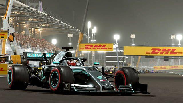 Courtois participará en un GP virtual de F1 2019 junto a Sergio Pérez y Gasly
