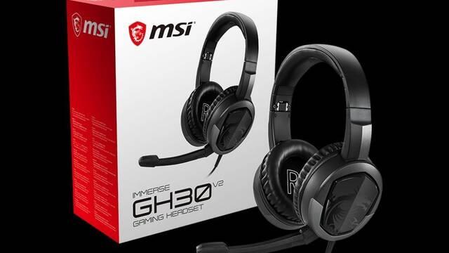 MSI presenta sus auriculares para jugar Immerse GH30 V2