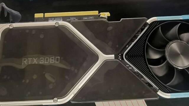 Primeras imágenes y renders de la nueva NVIDIA GeForce RTX 3080