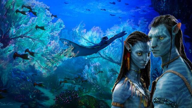 'Avatar 2' enseña los océanos de Pandora en un nuevo arte conceptual