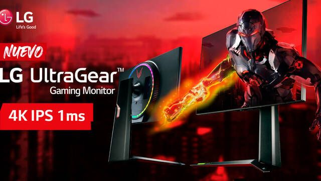 LG anuncia su monitor para jugar 27GP950: 4K, 144Hz y HDMI 2.1