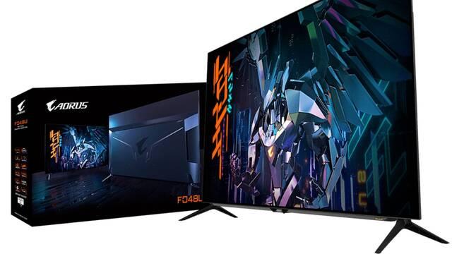 Gigabyte Aorus F048U, un monitor para jugar de 48 pulgadas con 120 Hz y HDMI 2.1