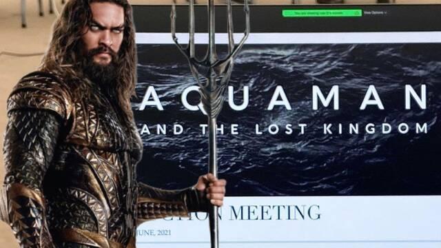 Aquaman 2: Revelado su título y logo oficial