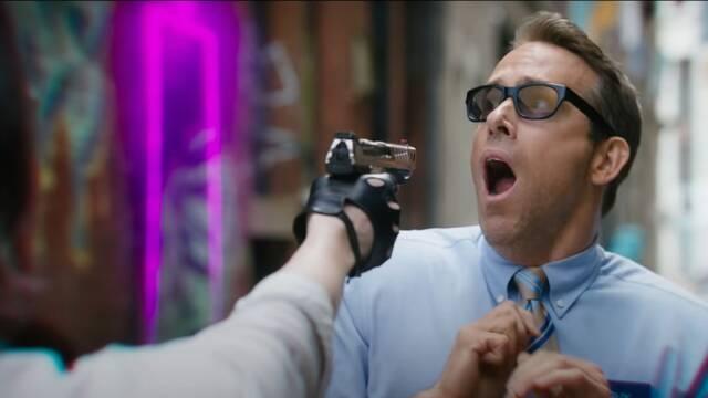 Free Guy: Ryan Reynolds es un NPC en el tráiler de esta nueva comedia