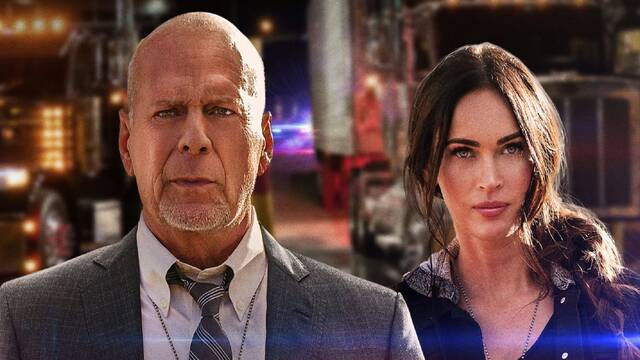 Megan Fox y Bruce Willis tras un asesino en serie en Midnight in the Switchgrass