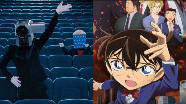 Un japonés es detenido por piratear una película de Detective Conan en el cine