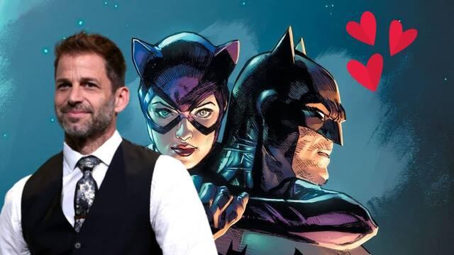 Zack Snyder comparte una imagen del sexo oral de Batman y Catwoman y la lía