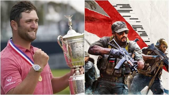 Jon Rahm se 'preparó' para ganar el US Open viendo un partido de Call of Duty