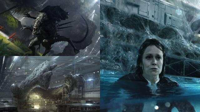 Alien 5: Surgen nuevos e increíbles artworks del proyecto fallido de Neill Blomkamp