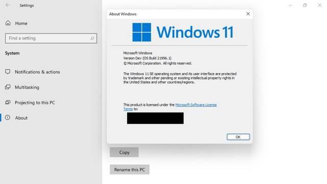 Se filtran imágenes de Windows 11 SE, la versión para PC modestos de Windows 11
