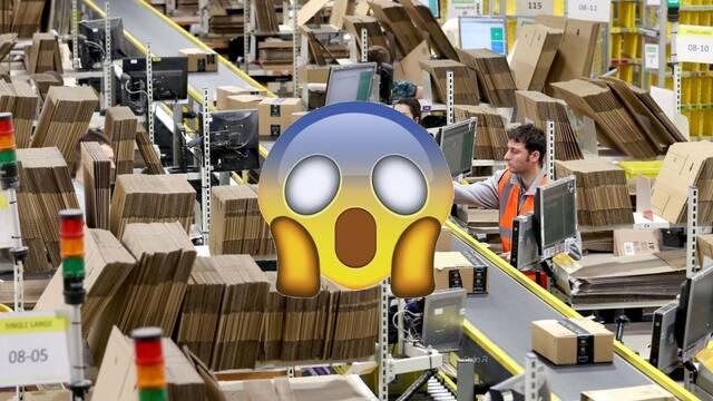 Amazon destruye millones de productos sin vender en un almacén de Reino Unido