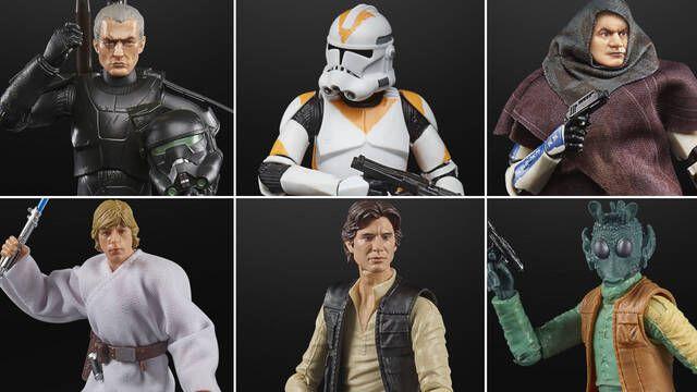 Así son las nuevas figuras que ha anunciado Hasbro de Star Wars: The Black Series