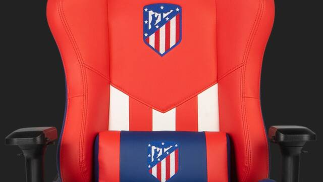 Drift presenta una silla para jugar del Atlético de Madrid