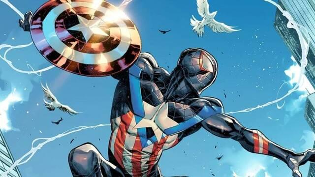 Spider-Man: Miles Morales se convierte en Capitán América en la nueva portada del cómic