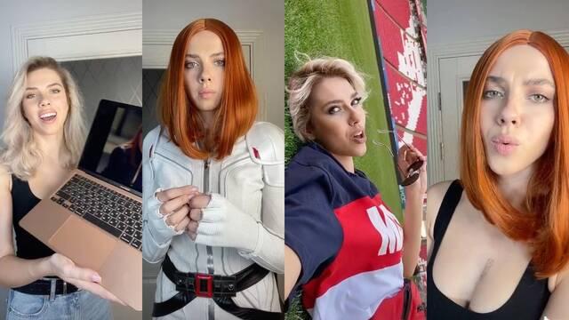 Scarlett Johansson tiene una gemela rusa y está arrasando en TikTok